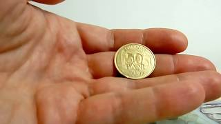 Румынские деньги. Монеты.