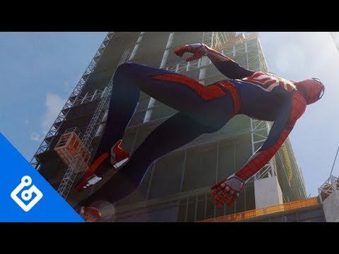 7 Minutes Of Web-Swinging Gameplay From Spider-Man