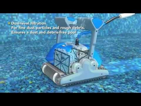 dolphin supreme m5 robotic pool cleaner youtube. Black Bedroom Furniture Sets. Home Design Ideas