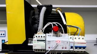 видео Электродвигатель, схемы подключения, схемы защиты