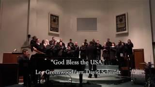 """""""God Bless the USA""""-Lee Greenwood/arr. David Schmidt"""