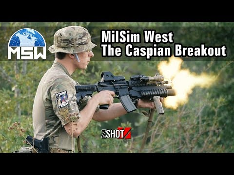 MilSim West The Caspian Breakout - ZShot Game Play