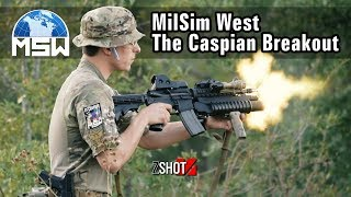 MilSim West The Caspian Breakout - ZShot Game Play