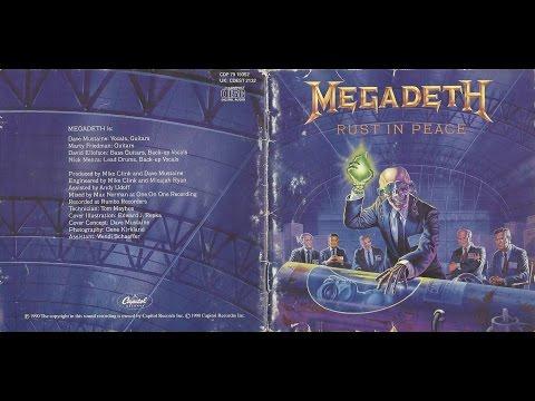 MEGADETH-Rust In Peace (FULL ALBUM) thumb