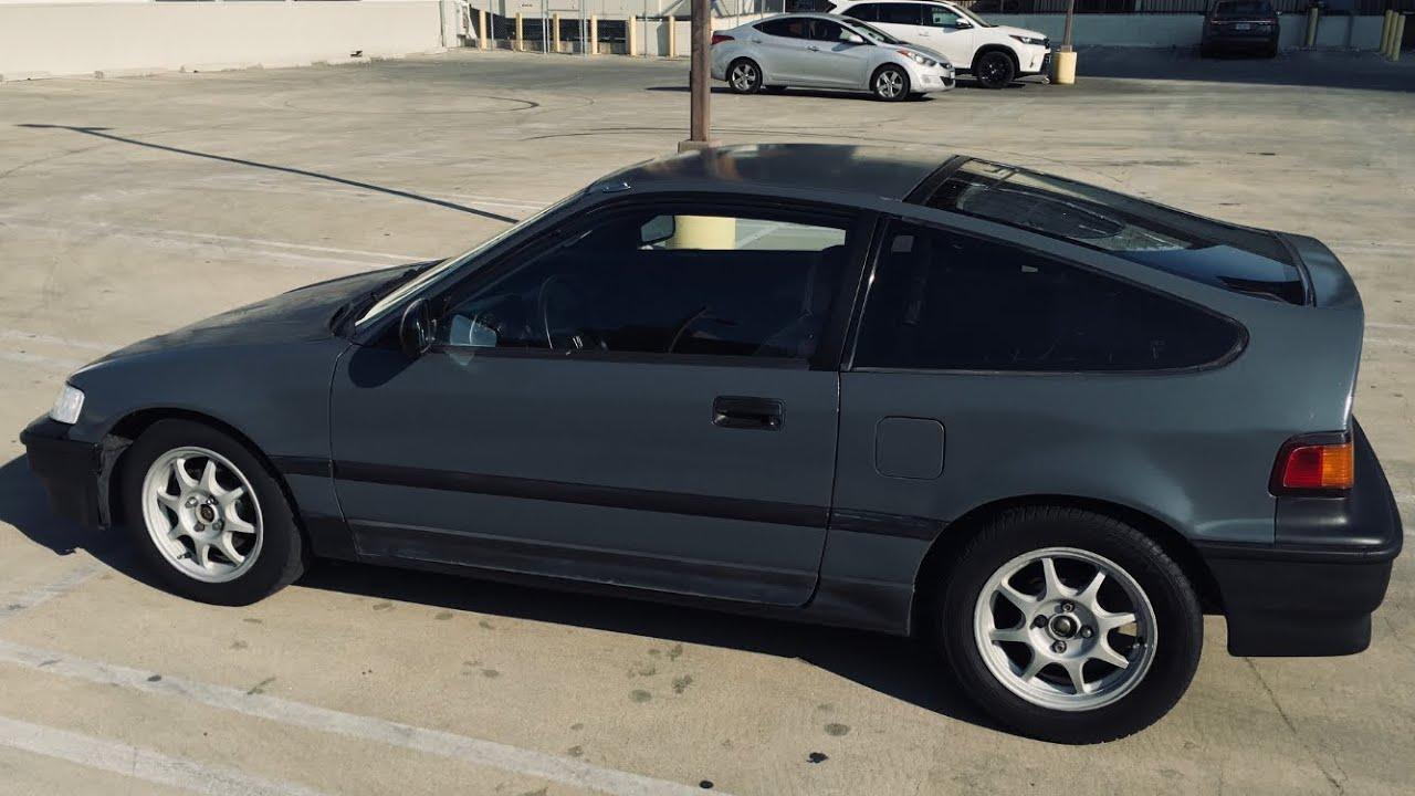 Honda CRX update