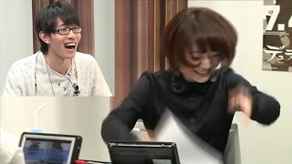 とし君の強引なセリフにちょろすぎる花澤香菜w「しゅごい~www」豊...
