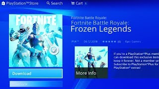 The NEW FROZEN LEGENDS PACK In FORTNITE! - ALL FREE Fortnite REWARDS! (Frozen Legends Pack!)