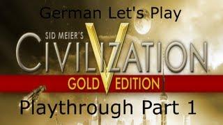 Let's Play Civilazation 5 Gold Edition Part 1