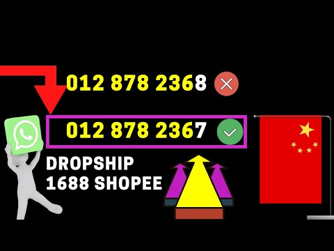 Dropship 1688 Shopee - Info Tahun 2020