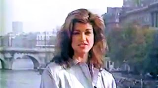Janice Dickinson - Paris Fashion Correspondent Report 1994