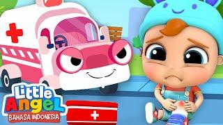 Mobil Ambulans Datang Menyelamatkanmu!oeLagu Anak | Little Angel Bahasa Indonesia