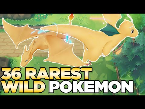 How to Find ALL 36 Wild Rare Pokemon in Pokemon Let's Go Pikachu & Eevee