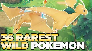 How to Find ALL 36 Wild Rare Pokemon in Pokemon Let