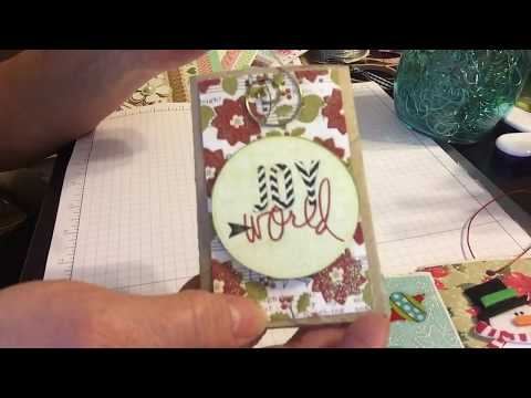 Craft Fair Toilet Paper Roll Gift Card Holders ~ August 2017
