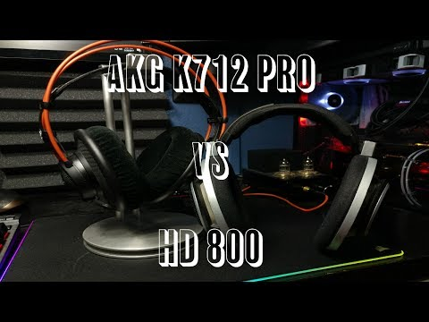 K712 PRO VS HD 800 (Do the K712 Pros have a chance? Maybe..)