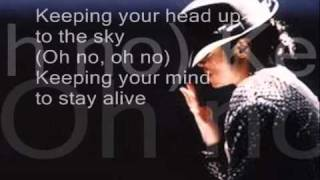 Michael Jackson-Keep Your Head Up Lyrics (HQ)