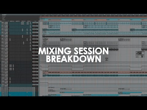 Recording & Mixing w/ Rick - Mixing Session Breakdown