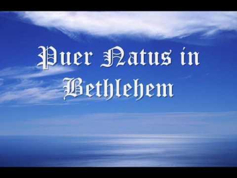 Canto gregoriano - Puer Natus in Bethlehem