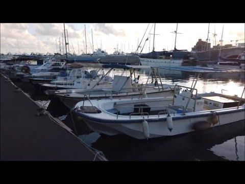 Walk In Cyprus: Limassol Marina, Limassol Castle And Agios Ermogenis Beach