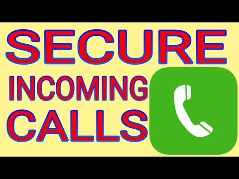 How to Secure Incoming Call Protect your Incoming Call
