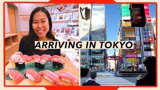 Arriving in Tokyo, Japan: First Impressions & Exploring Akasaka | Travel Vlog