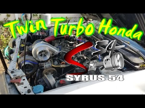 the Worlds 1st Twin Turbo Sleeper Honda (Stock Engine)