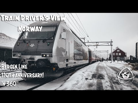 CAB VIEW 360°: 110th anniversary of the Bergen Line
