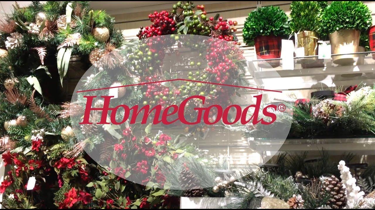 shop with me home goods christmas home decor and perfect gift 2017 - Home Goods Christmas