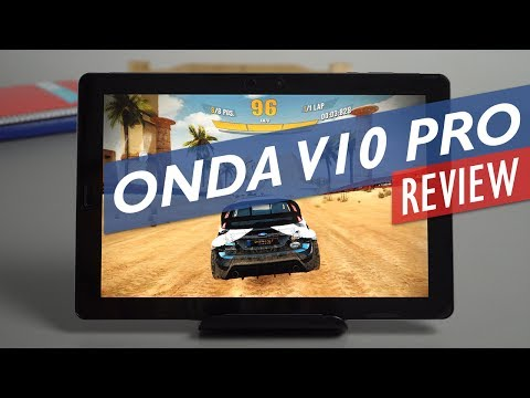 Onda V10 Pro Unboxing & Review 2560 x 1600p OGS Phoenix OS Tablet