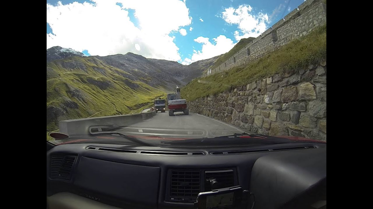 Now Tv F1 Pass Stelvio Pass Descent In Ferrari F355 355 F1 Gts Youtube