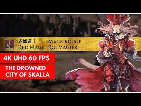 FF14 Stormblood - Red Mage Rotation at 50 | FunnyDog TV