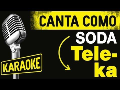 Tele-Ka, con letra - Soda Stereo Karaoke