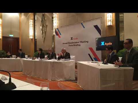 Ayala Corporation press conference 2018