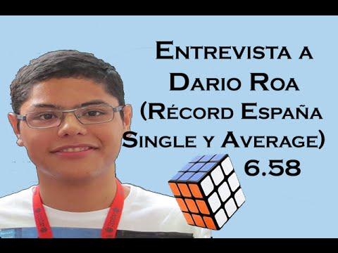 Entrevista a dario roa record espa a cubo de rubik youtube for Rubik espana