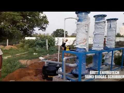 BRITT Envirotech Biogas Scrubber And Purification System