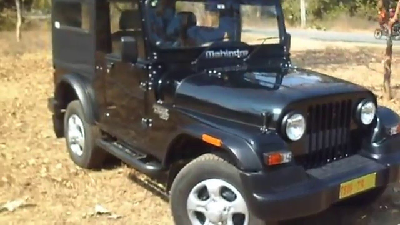 Mahindra Thar Crde 4x4 Facelift Walkaround Youtube