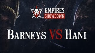 Empires Showdown - Charity Tournament - PETITE FINALE ! - Hani vs BarneyS ! BO5