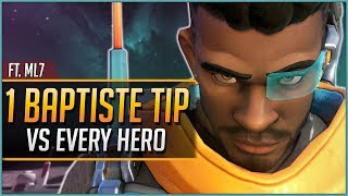 1 BAPTISTE TIP for EVERY HERO ft. mL7