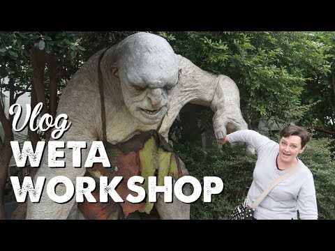Vlog: Weta Workshop | A Thousand Words