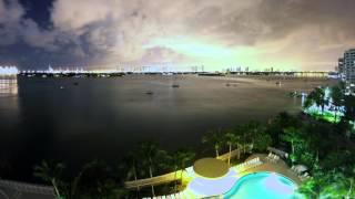 Go Pro Hero 4 Black - Time Lapse / Night Lapse - Miami Beach