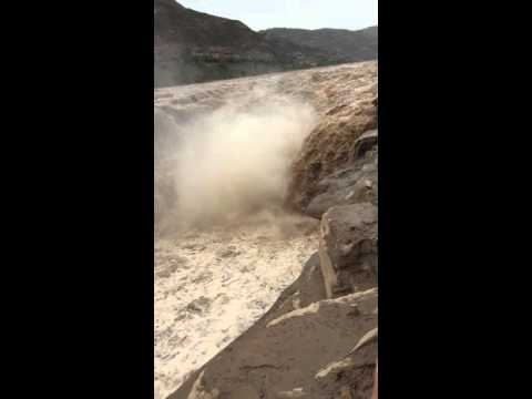 The Hukou Waterfalls of Yellow River