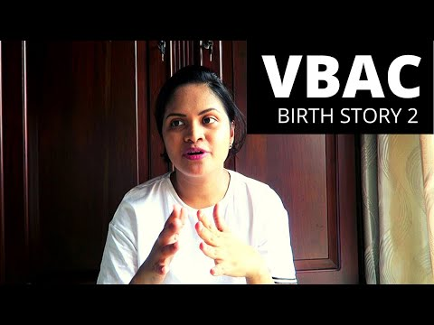 BIRTH STORY 2 - labor and delivery of my second baby - VBAC in Sri Lanka