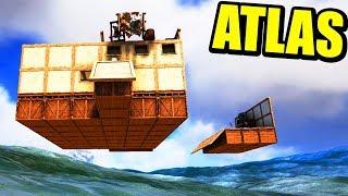 ATLAS - CASA FLOTANTE, Y CASTILLO FANTASMA | Gameplay Español