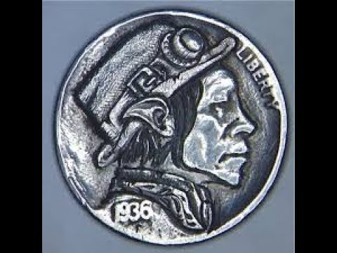 Engrave In---coin carving Harry Caldwell
