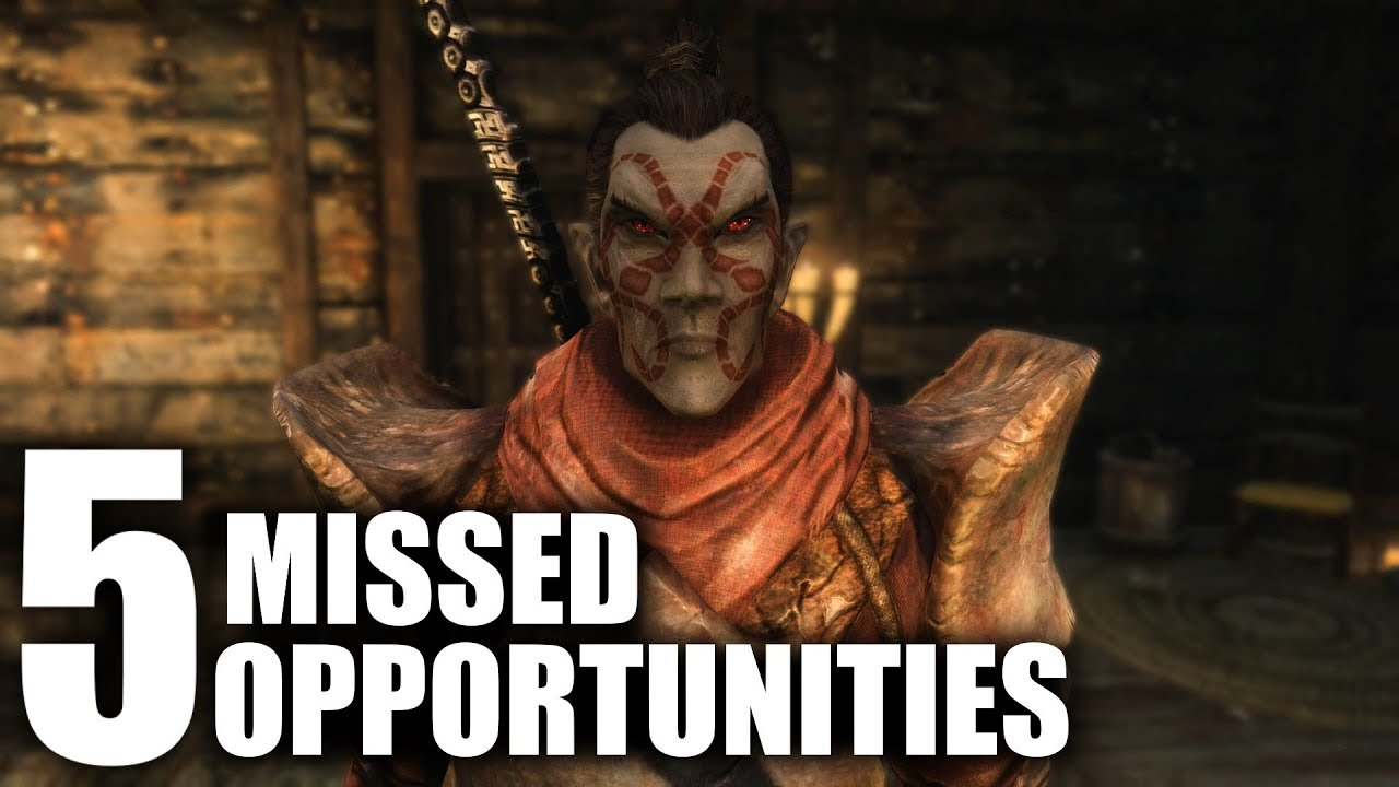 Skyrim: 5 MISSED Opportunities