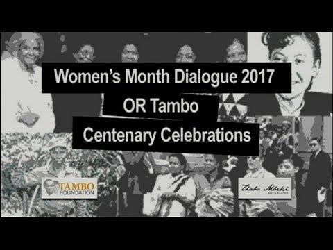 Women's month dialogue 2017
