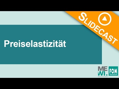 Preiselastizität | Slidecast