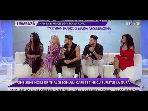 Carmen, Dana, Cristi și George, ispitele de la Insula Iubirii, fac show în platoul Agenția Vip