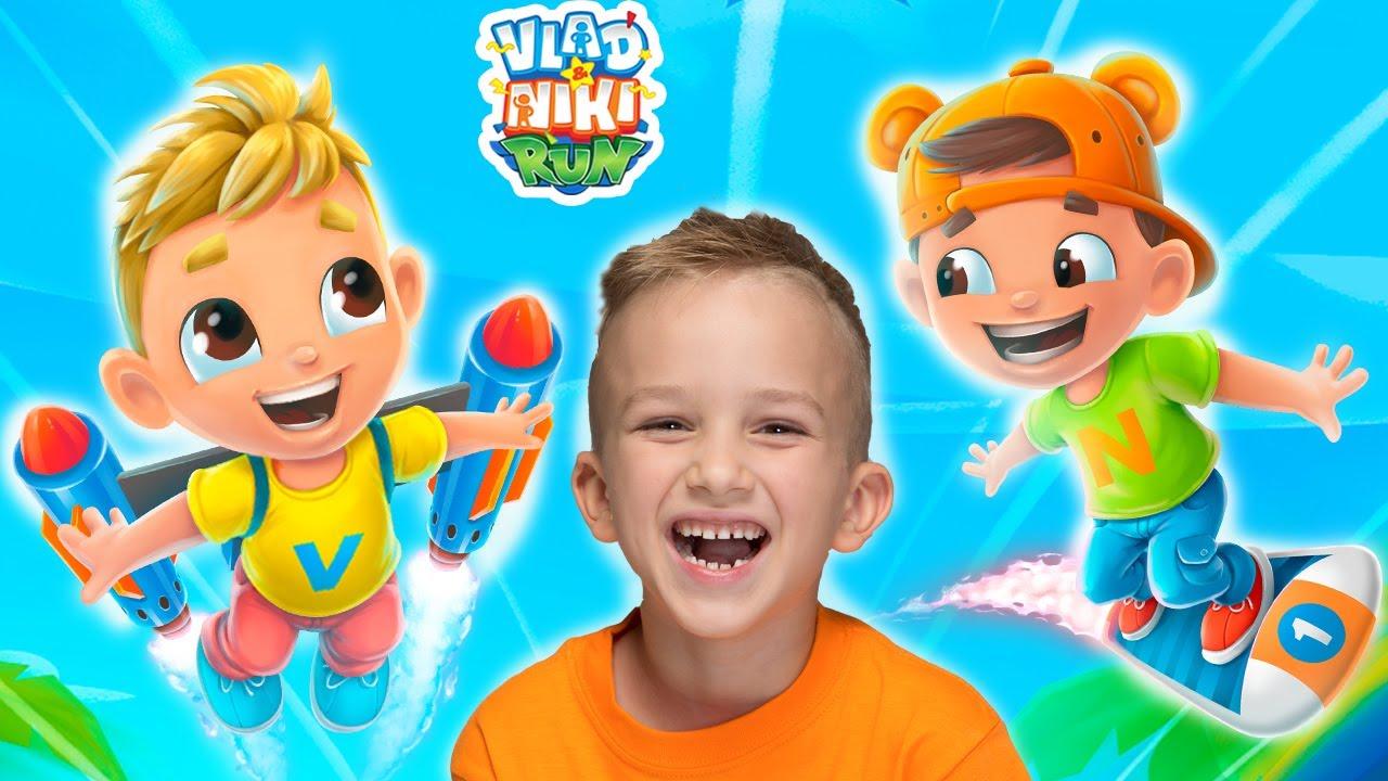 블라드와 니키 실행 - 아이들을위한 새로운 게임