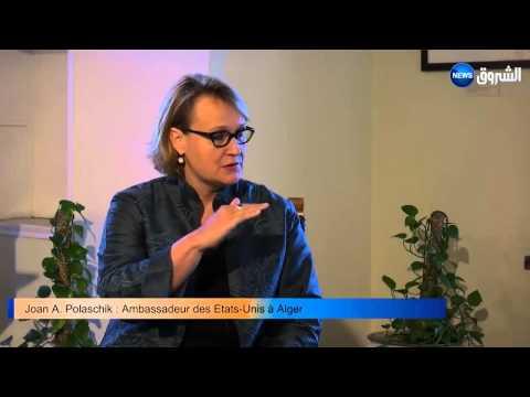 Ambassador Joan Polaschik  Interview - EchoroukTV Part Part1of2